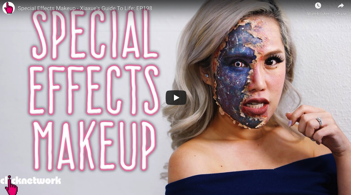 Video Review: Special Effects Makeup – Xiaxue's Guide To Life: EP198