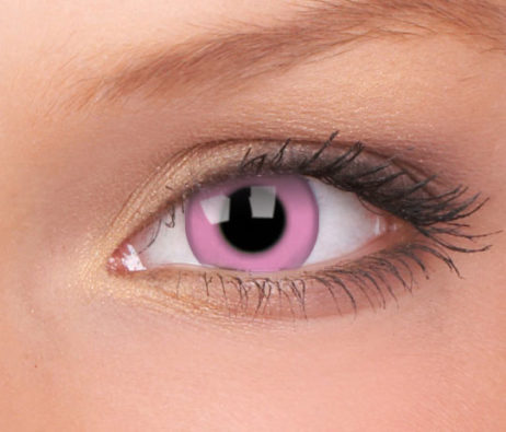 Crazy Lens Barbie Pink Yearly Disposable 14 mm Contact Lens