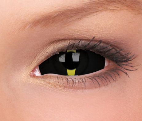 Crazy Lens Blacklash 6 Months Disposable 22 mm Contact Lens