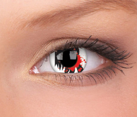 Crazy Lens Bloodscream Yearly Disposable 14 mm Contact Lens
