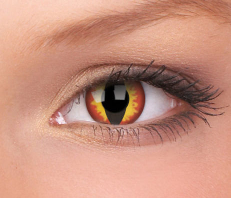 Crazy Lens Dragon Eyes Yearly Disposable 14 mm Contact Lens