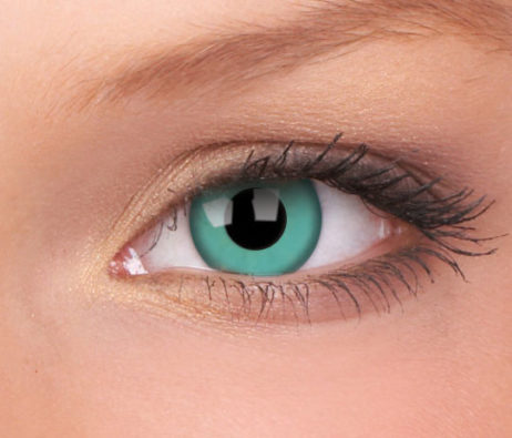 ColourVUE Crazy Lens Emerald Monthly Disposable 14 mm Contact Lens