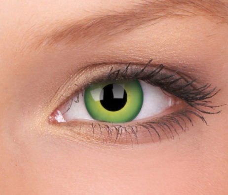 ColourVUE Crazy Lens Hulk Green Monthly Disposable 14 mm Contact Lens