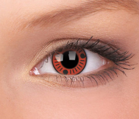 Crazy Lens Sasuke 3 Months Disposable 14 mm Contact Lens