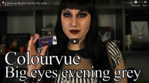 Video Review: Colourvue Big Eyes Evening Grey review by Orphea