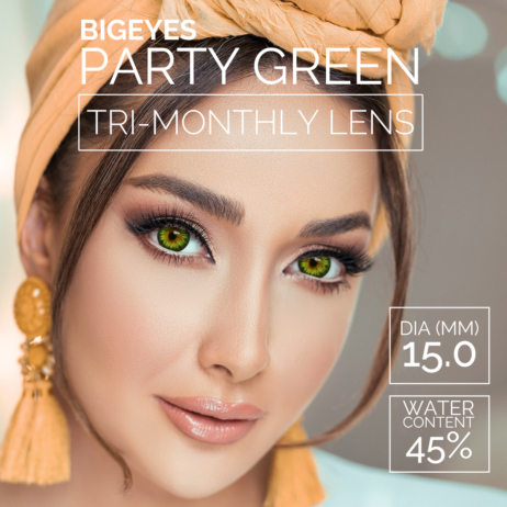 Big Eyes Party Green 15mm