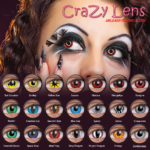 Costume Non-Prescription Scary Contact Lenses Are Gaining In Popularity Due To The Look They Create