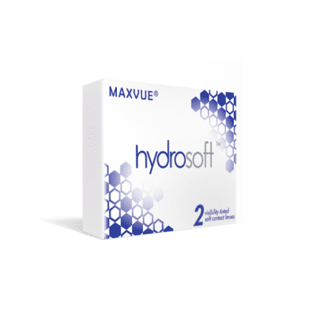 Maxvue Hydrosoft Monthly Disposable Clear Contact Lens 2 pack